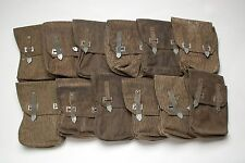 12 East German 4 Compartment Assorted Military Surplus Mag Pouches