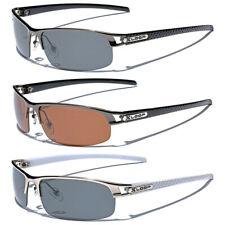 Поляризованные металлические мужские солнцезащитные очки спорт для рыбалки гольфа вождения антибликовые очки