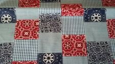 New-100% Cotton-Micheal Miller Fabrics  Bandana  Patchwork Design