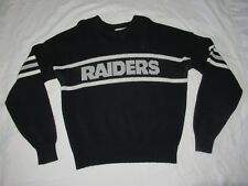 Oakland Raiders Cliff Engle Sweater 1980s Vintage Sweat Shirt NFL Sports XL 80s