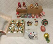 Mixed Lot of Christmas Ornaments *Vintage*