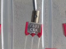 C&K 7101 TOGGLE SWITCHES (40 )