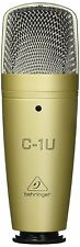 New Behringer C-1U Studio Condensor Microphone From Japan F/S