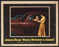 "Poster Lobby Card Rebel without a Cause 1955 11""x14"" Fine 6.0 James Dean"