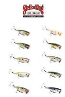 """Strike King Kvd Splash Topwater Popper Lure, 3"""" Bass Fishing Crankbait"""
