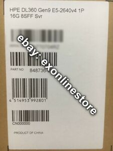 848736-291 - DL360 Gen9 Xeon E5-2640v4 2.40GHz 1P/10C 16GB Memory Hot Plug JP