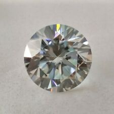 Round Cut Loose Moissanite For Ring/jewelry/pendant 1.22Ct 7.14 Mm Vvs1 Ice Blue