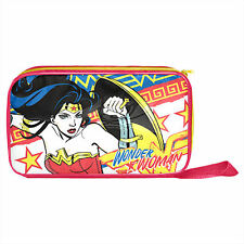DC Comics Wonder Woman Kids Printed Insulated Lunch Box Cooler Bag New