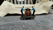 "Vintage HO 1-1/2"" Bachmann Gandy Dancer Hand  Car w/ papers"