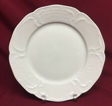 "Rosenthal Sanssouci White 10"" Dinner Plate No Trim"