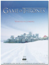 Game Of Thrones TV Series Silk Poster 13x18 inches - Winter Is Coming