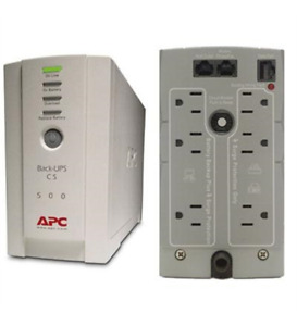 NEW APC BK500 Back-UPS CS 500VA - 8 Hour Recharge 3 Minute Stand-by 110 V AC