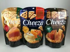 3 bags Cheeza - 3 flavours Japanese Cheese Chips/Snacks/Crisps - Japan Dagashi