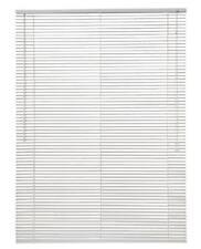 PVC Venetian Blind 2Ft Super White Blinds Window Wooden Grain Effect 25Mm Slats