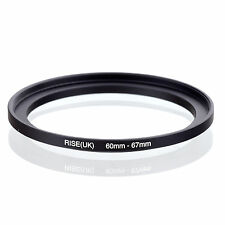 60mm to 67mm 60-67 60-67mm60mm-67mm Stepping Step Up Filter Ring Adapter