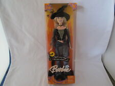 New Halloween Barbie Halloween Star Witch With Hairbrush MIB