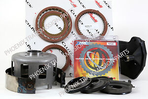 4L60E Hi Performance Upgrade Set Z-Pak Beast Shell Stage-1 Clutches 1997-up GM
