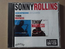 Sonny Rollins - Saxophone Colossus/Tenor Madness (1999) CD