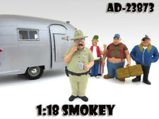 "SMOKEY ""TRAILER PARK"" FIGURE FOR 1:18 SCALE MODELS BY AMERICAN DIORAMA 23873"