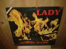 "WAYNE WADE featuring KING TOAST  lady 12""  MAXI 45T"