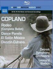 Copland: Rodeo, Dance Panels, El Salon Mexico, Danzon Cubano (Blu Ray Audio), Ne