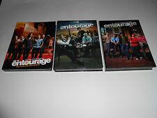 Entourage DVD Complete First Season/ Second Season/ Third Season Pt.1 Set 3 DVDs