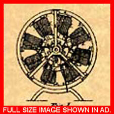 Electro Magnetic Engine Electric Motor Patent #034