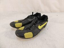 Nike Cycling Shoes Men's 7.5 8808I0ST-P Black & Lime Green Vented 50434
