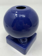 Vintage Original Fiesta Homer Laughlin Cobalt Blue Candleholder
