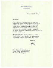 Dwight D. Eisenhower - Typed Letter Signed - Reflects on USS Missouri Surrender