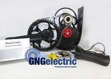 48V500W Gng Chain Reduction Mid Drive Electric Motorized E Bike Kit (Brushless)