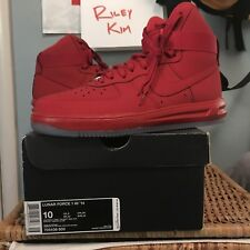 6cd44c79e5e7 Nike Air Force 1 Hi Lunar  14 Red October US10 UK9