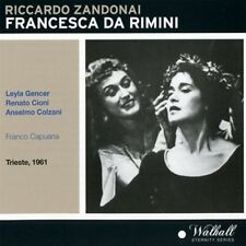 Zandonai / Gencer / Orchestra & Chorus Of The - Francesca Da Rimini [New CD]