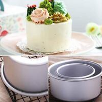Round Mini Cake Pan Removable Bottom Pudding Mold DIY Kitchen Baking Tool
