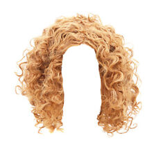 Women Short Afro Kinky Curly Wig Synthetic Hair Afro Wigs Black Brown Blonde CB