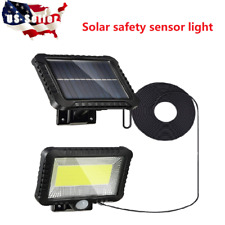 100 Led Solar Powered Sensor Light Motion Sensor Outdoor Security Flood Light