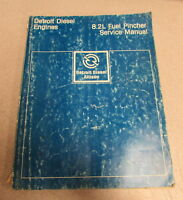 Detroit Diesel Engines 8.2L Fuel Pincher Service Manual 1984