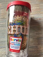 """Tervis 16 oz. Tumbler with RED Lid  Margaritaville """"CHILL""""  Parrot NWT"""