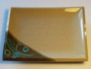 "Vintage RARE Japan ""Yamato Three Line"" Melamine  Sushi Plate K-103"