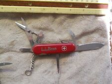 Wenger Sportsman Swiss Army knife in red - lockblade,L.L.BEAN