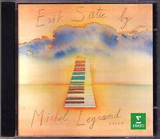MICHEL LEGRAND: Satie Soprt Divertissments gymnopedie Sonatine bureaucratique CD