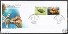 MALAYSIA 2007 Unique Marine Life M'sia-Brunei Joint Issue FDC