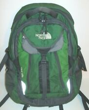 The North Face Surge Green Backpack & Laptop Bag