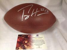 Percy Harvin Seattle Seahawks NFL Autographed Signed Wilson Football COA Vikings