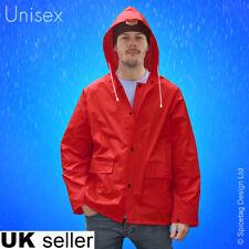 Unisex Vintage Style Raincoat Paddington Water Proof Rain Jacket Poncho Cute Top