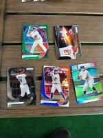 Bo Bichette Red White And Blue RC + 4 Card Prizm Superstar 2020 Prizm Lot