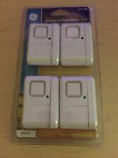 GE Window Or Door Personal Security Alarm Sensor 4 Pack 45174