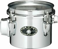 """Tama Steel Mini Timbales Snare 6 """"X5"""" STS065M From Japan"""