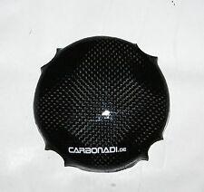 KAWASAKI ZZR600 CARBON ZÜNDGEBERDECKEL MOTORDECKEL ENGINE COVER CARBONE CARBONO
