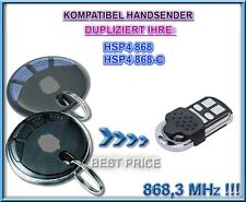 Hörmann HSP4 868, HSP4 868-C kompatibel Handsender, Klone, NOT MADE BY Hörmann!